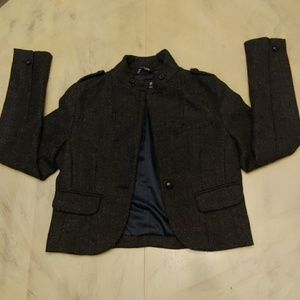 Womens American Eagle Wool Blazer Coat